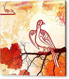Bird Of Glory 1 Acrylic Print by Misha Maynerick
