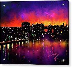 Biscayne Bay, Miami Acrylic Print