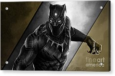 Black Panther Collection Acrylic Print
