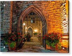 Blink Cincinnati - Covenant First Presbyterian Church Acrylic Print