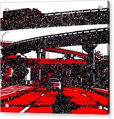 Bloody95 Acrylic Print by Jason Charles Allen