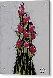 Bloom No. 1  Acrylic Print by Mark M  Mellon