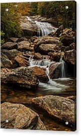 Blue Ridge Waterfall Acrylic Print