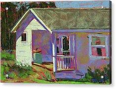 Blue Willow Farmers House Acrylic Print by Mary McInnis