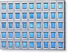 Blue Windows Acrylic Print by Joana Kruse