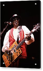 Bo Diddley Acrylic Print