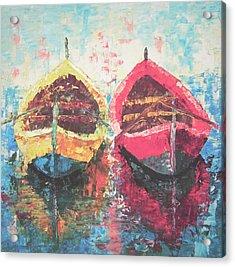 Boat Of Provence Acrylic Print