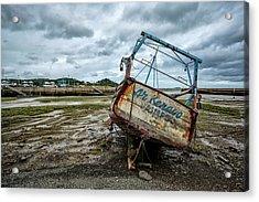 Boats By The Sea Acrylic Print