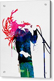 Bob Watercolor Acrylic Print