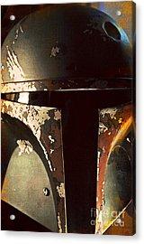 Boba Fett Helmet 21 Acrylic Print