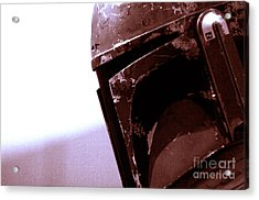 Acrylic Print featuring the photograph Boba Fett Helmet 34 by Micah May