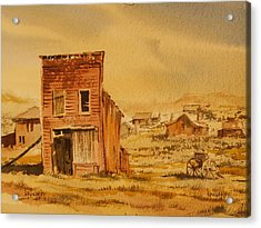 Bodie California Acrylic Print by Kevin Heaney