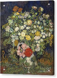Bouquet Of Flowers In A Vase, 1890 Acrylic Print
