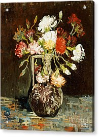 Bouquet Of Flowers Acrylic Print by Vincent Van Gogh