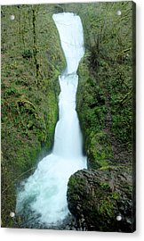Acrylic Print featuring the photograph Bridal Veil Falls by Jeff Swan
