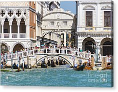 Bridge Of Sighs Acrylic Print by Svetlana Sewell