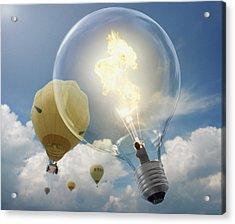 Bright Idea Acrylic Print