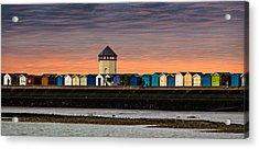 Brightlingsea Essex  Acrylic Print by Martin Newman