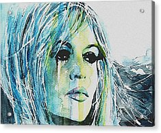 Brigitte Bardot Acrylic Print by Paul Lovering