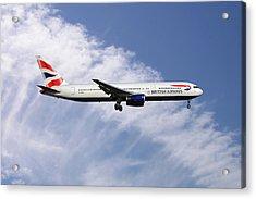 British Airways Boeing 767-336 Acrylic Print