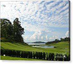 Bro Hof Slott Golf Club Sweden Acrylic Print
