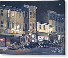 Broadway Nocturne Acrylic Print