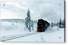 Brockenbahn, Harz Acrylic Print