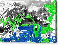 Broken Homes Acrylic Print