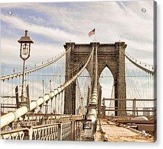 Brooklyn Bridge I Acrylic Print
