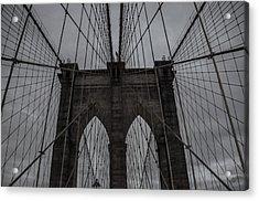 Brooklyn Bridge Acrylic Print by Martin Newman