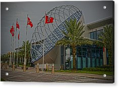 One Buc Place Acrylic Print by Chauncy Holmes