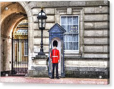 Buckingham Palace Queens Guard Art Acrylic Print by David Pyatt