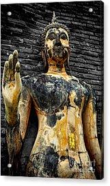 Buddha Statue  Acrylic Print by Adrian Evans