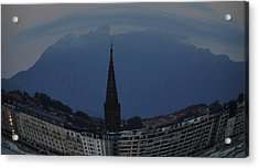 Buen Pastor Cathedral  Acrylic Print by Tara Miller