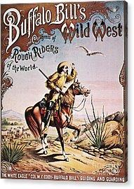 Buffalo Bill: Poster, 1893 Acrylic Print by Granger