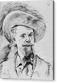 Buffalo Bill Acrylic Print by Stan Hamilton