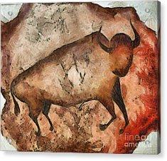 Bull A La Altamira Acrylic Print