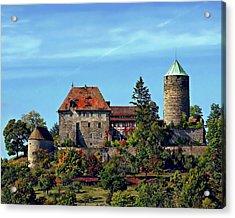 Burg Colmberg Acrylic Print