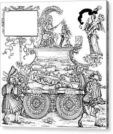 Burgkmair - Maximilian Acrylic Print by Granger