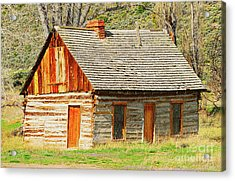 Butch Cassidy's Family Homestead Acrylic Print by Dennis Hammer