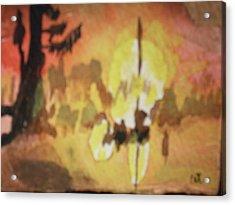 Cajun Sunrise Acrylic Print by Warren Thompson
