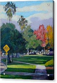 Cal Tech Acrylic Print