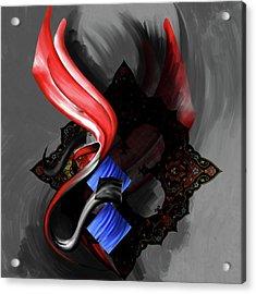 Calligraphy 97 3 Acrylic Print