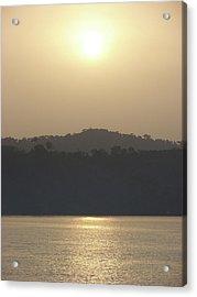 Cameroon Sunrise Africa Acrylic Print