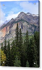 Canadian Rockies No. 2-1 Acrylic Print