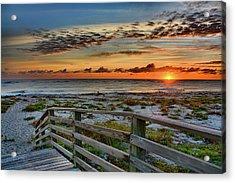 Canaveral Sunrise Acrylic Print