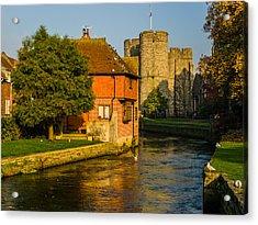 Canterbury Acrylic Print by Daniel Precht