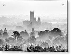 Canterbury Acrylic Print by Ian Hufton