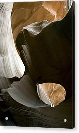 Acrylic Print featuring the photograph Canyon Sandstone Abstract by Mike Irwin