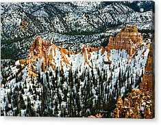 Canyon View Acrylic Print by Christopher Holmes